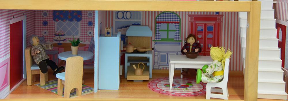 Puppenhaus Wohnzimmer